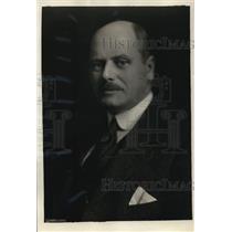 1921 Press Photo Jonkheer F. Beelaerts van Blokland of the Netherland