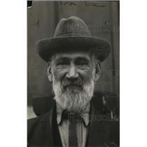 1921 Press Photo JF Stevens, Detroit, Michigan, Crossing Watchman, DT & IRR