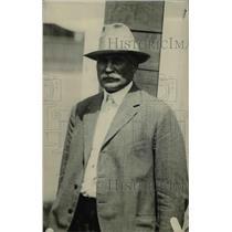 1918 Press Photo Al Pennock, race track owner, died september 1934