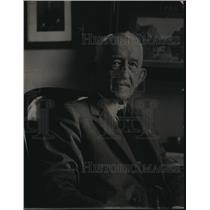 1920 Press Photo George Evans chief disbursing clerk of Interior Dept
