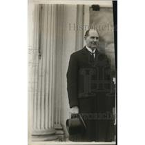 1925 Press Photo Swedish Minister, Captain Axel Wallenberg