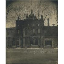 1922 Press Photo Auburn buildings on the campus