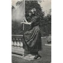 1918 Press Photo Suzanne Silvercrups of Belgium