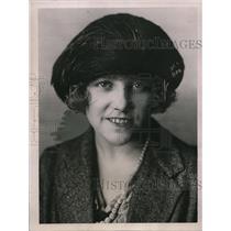 1921 Press Photo Cecilia Bevan Prettiest Girl in London