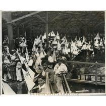 1931 Press Photo 9th Annual Miniature Regatta at Westlake Park Los Angeles