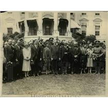 1926 Press Photo Red Cross leaders & Pres & Mrs Coolidge