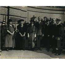 1923 Press Photo Daughters of American Revolution & Col Sherrill Sec of War Davi