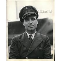 1938 Press Photo Henry P. Luna , second pilot.