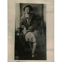 1922 Press Photo Miss Alice Tanton, one of the 17 girls expelled from the
