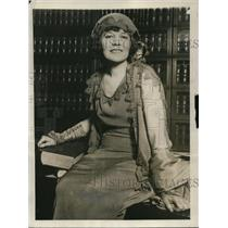 1923 Press Photo Elaine Lee Harris, wife of prominent financier Beverly Harris