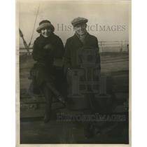1922 Press Photo Mr. and Mrs. T.C. Daily of Philadelphia