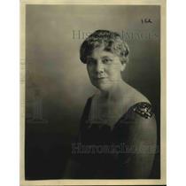 1922 Press Photo Mrs Carrol Marks Natl chair of Women's Auxilary American Legion
