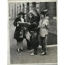 1929 Press Photo Mary Philips, Alice Denninger and Catherine Cullen