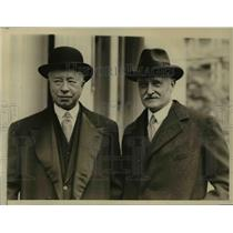 1926 Press Photo Sir James Elder, Sir Esme Howard Leaving White House