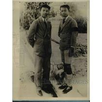 1928 Press Photo Sons of King of Cambodia at their school
