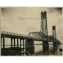 1927 Press Photo New Chochrane Bridge on Mobile Bay