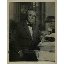 1922 Press Photo Augustus Thomas, Dean of American Playwrights.