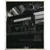 1938 Press Photo Ford Motor Company Installed A New 110,000kwh Turbo-generator