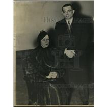 1934 Press Photo Mr. And Mrs. Jack Reynolds