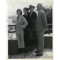 1934 Press Photo Winners of the Schuyler, Nebraska