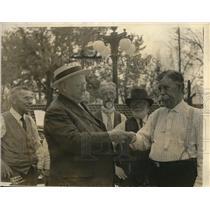 1926 Press Photo WH Hawrecht, Mr Lynch, David Evans, Al Holland, J Brice