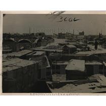 1923 Press Photo Vladioostok Russian Siberia Machinery material
