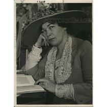 1922 Press Photo Mrs. Vincent Whitney