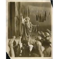 1928 Press Photo Noah played by Paul McAllister in Passion play for Warner Bros
