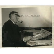1926 Press Photo Tim Cronin, Police Editor of San Francisco Police