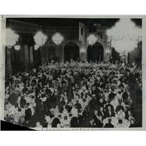 1933 Press Photo 25th Annual Convention of Governors at Palace Hotel