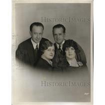1926 Press Photo Arthur Hackett-Granville, William Simmons, Betsy Lana Shepherd