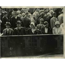 1929 Press Photo Katsuji Debuchi & wife Japan Amb at Davis Cup tennis