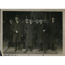 1921 Press Photo The Austrians arrival for the Conference at St. James Palace