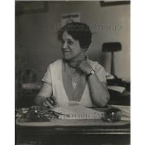 1927 Press Photo Mrs. Christine Bradley South, Prominent Republican Worker