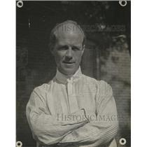 1918 Press Photo Poet Edmund V. Cooke