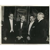 1938 Press Photo Henry Ford at ANPA Convention Dinner at Waldorf-Astoria Hotel