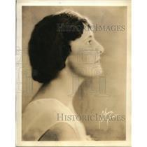 1930 Press Photo Maude Sheridan's Golden Voiced Contralto