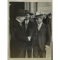 1923 Press Photo Count Yayusa Uchida, former Japanese Ambassador to U.S.
