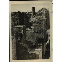 1918 Press Photo Ruins of Ancient Temple of El Sagilo