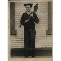 1919 Press Photo Eisie Wilson, held in the Hoboken police court