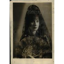 1928 Press Photo Countess De Berlange De Duero Wife New Attache Spanish Embassy