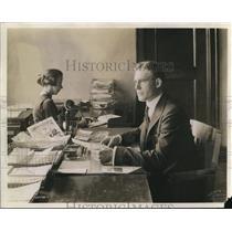 1920 Press Photo RG Creviston, Head, Organization Dept, American Legion