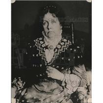 1922 Press Photo Annie Kyle A Photo Taken A Few Years Before Her Death
