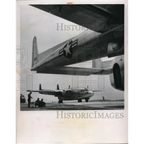 1951 Press Photo Fairchild Aircraft
