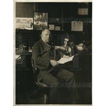 1918 Press Photo A. Loxen Worin, General Representative of the Shuberts