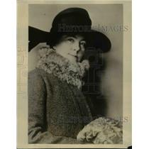 1924 Press Photo Mrs V Everit Macy chair of Exec Board of Girl Scouts