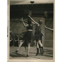 1920 Press Photo Baltimore volleyball
