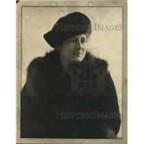 1921 Press Photo Mrs Florence Calhoun Mother of Actress Alice Calhoun