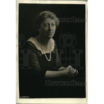 1922 Press Photo Mrs Raymond B. Morgan, American Association of University Women
