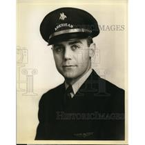 1938 Press Photo Pilot Walter N Pharr